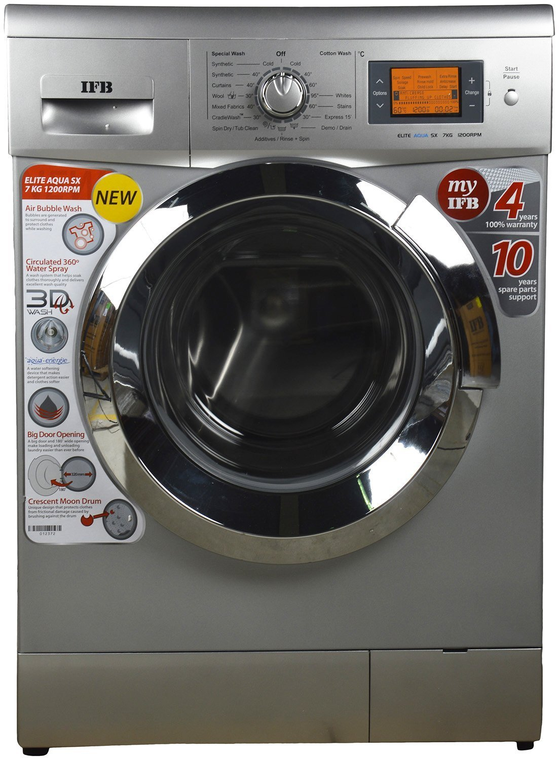 IFB Elite Aqua SX Fully Automatic Front-loading Washing Machine